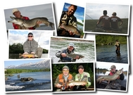Info about salmon, pike and fly fishing