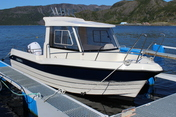 Nyvoll boat 3 - 23ft/100 hp e/g/c