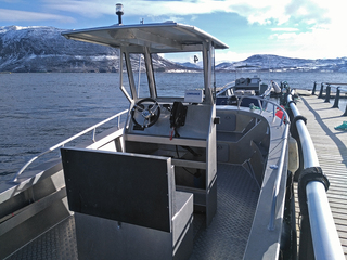 Rotsund seafishing boat 4 - Tuna 670R - 22ft/140 hp e/g/c