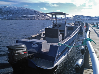 Rotsund Seafishing boat 5 - Tuna 720 - 23,5ft/140 hp e/g/c