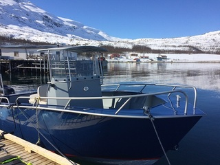 Rotsund Seafishing boat 2- Tuna 670 -  22ft/140 hp e/g/c