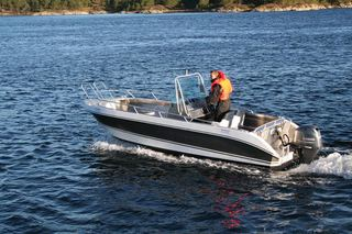 Ankeret boat 1 -  20ft/60 hp e/g/c