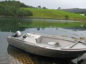 Asplia boat 4-  16ft/20 hp