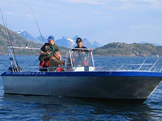 Efjord boat 1-19ft/50 hp e/g/c