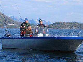 Efjord boat 2-19ft/50 hp e/g/c