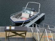Efjord boat 4-19ft/50 hp e/g/c