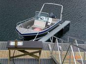 Efjord boat 4-19ft/50 hp e/g/c
