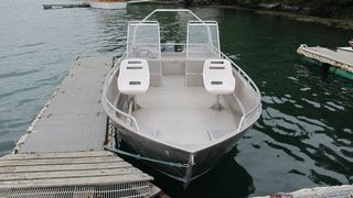 Einset alu boat 4 - 18ft/60 hp - 4 stroke
