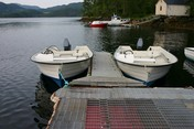 Einset boat included.Øien 530 with Evinrude E-tec 40 ps