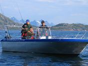 Hamneidet boat 1- 19ft/50 hp echos./gps/chart pl - max 4 pers
