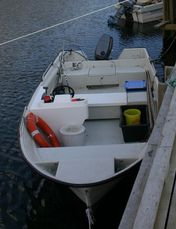 Strand boat on request - Øien 530, 17,5ft/50 hp e/g/c