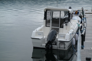 Kvænangsbotn boat 1 -Quicksilver Pilothouse 555, 17,5ft/80 hp e/g/c