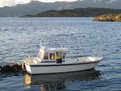 Meløy boat 3 - Max 4 pers - 21ft/75HP Cabin  e/g/c