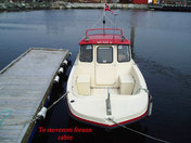 Meløy naturopplevelse boat 1 - 22ft/140 hp echos/chart pl. 4-stroke