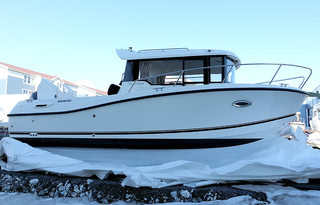 Mikkelvik boat 7 -Quicsilver Captur 755- pilothouse 24ft/ 225 hp e/g/c