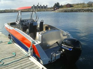 Mikkelvik boat 9 -ONLY ON REQUEST- Kaasbøll (hardtop)24ft/150 hp e/g/c