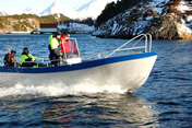 Polarsirkelen boat 01 - Alu-jeep 21ft/80 hp echos/gps