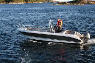 Træna boat 2, Kværnø 20ft/ 90 hp e/g/c