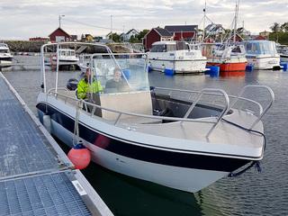 Træna boat 3, Kværnø 22ft/ 140 hp e/g/c